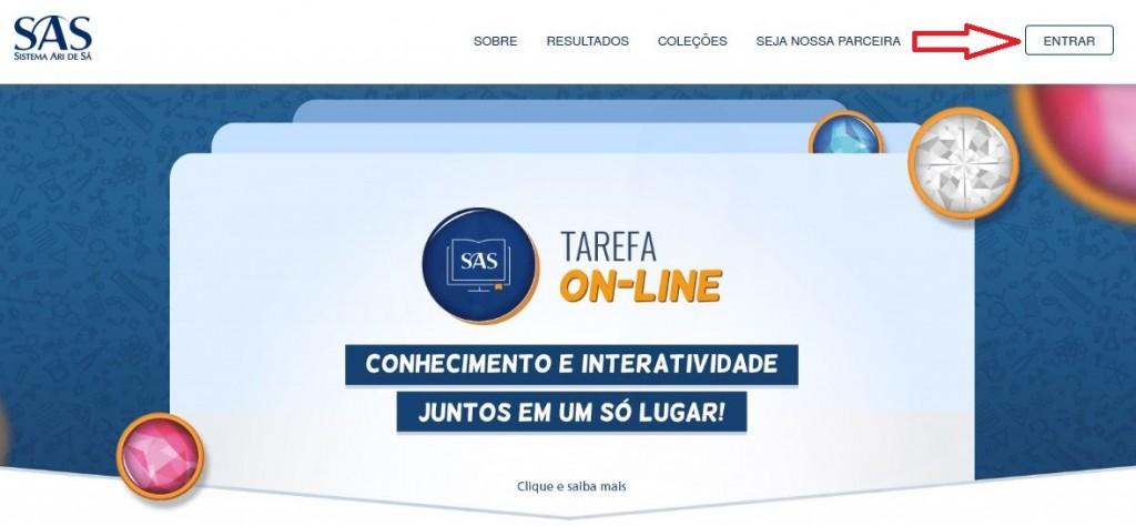 Tutorial - Página Inicial (SAS)