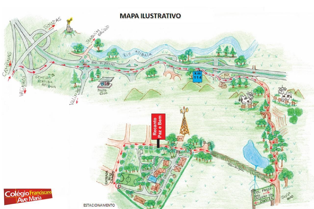 Recanto (mapa)