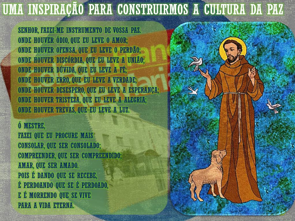 Oração de São Francisco - SITE