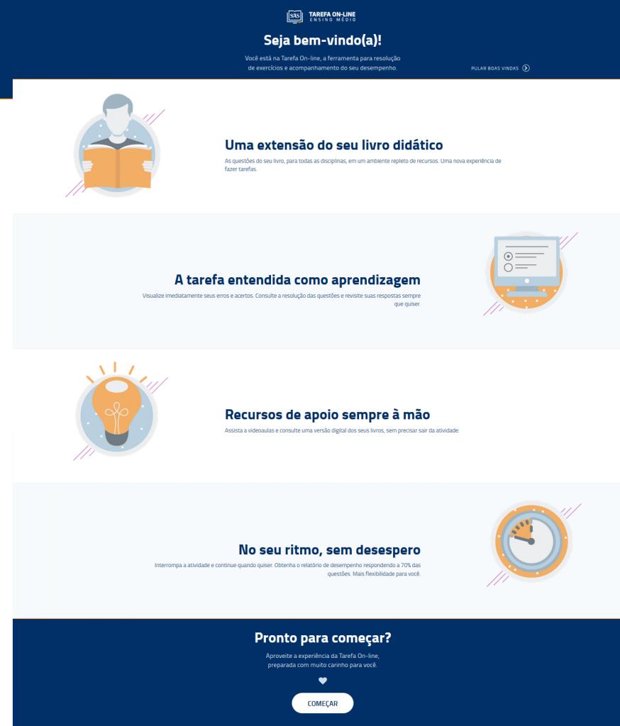 Tarefa Online - Ensino Médio